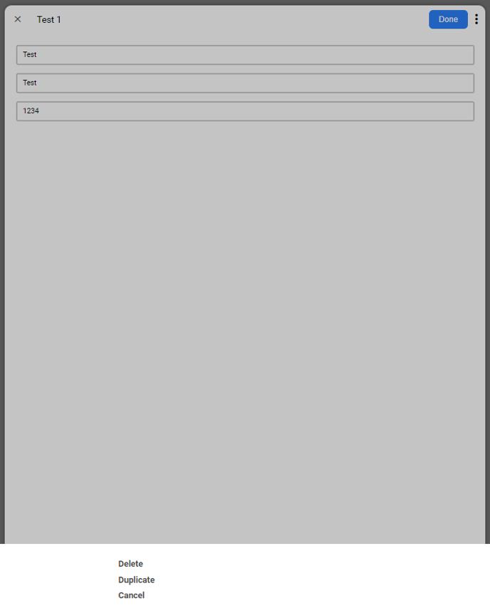 3 dot menu